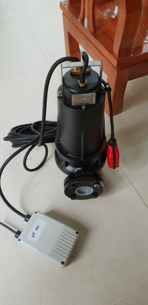 Bơm chìm nước thải gang Beluno 7.5kw