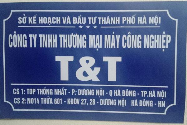 Công Ty TNHH Thương Mại Máy Công Nghiệp T&T