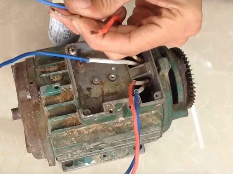 Cách đấu tụ điện máy bơm nước một pha